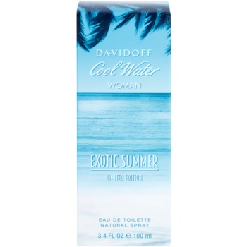 Davidoff Cool Water Woman Exotic Summer Limited Edition toaletna voda za ženske 1