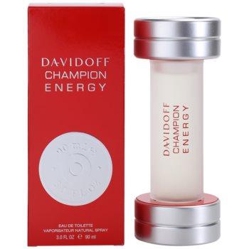 Davidoff Champion Energy woda toaletowa dla mężczyzn