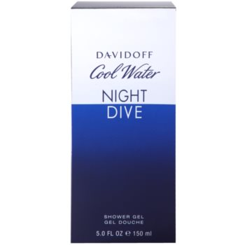 Davidoff Cool Water Night Dive gel de duche para homens 3