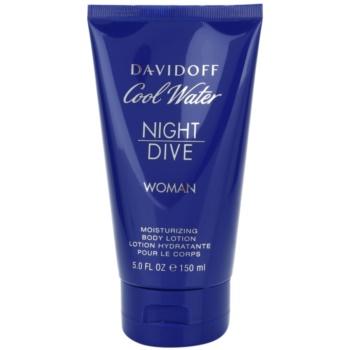 Fotografie Davidoff Cool Water Woman Night Dive tělové mléko pro ženy 150 ml