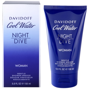 Davidoff Cool Water Night Dive gel de duche para mulheres