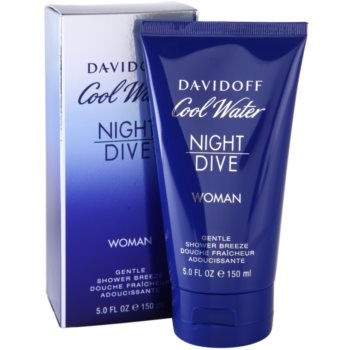 Davidoff Cool Water Night Dive gel de duche para mulheres 1
