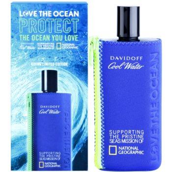 Davidoff Cool Water Love The Ocean National Geographic toaletní voda pro muže