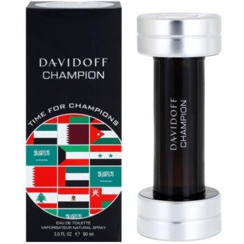 Davidoff Champion Time for Champions Limited Edition toaletna voda za moške