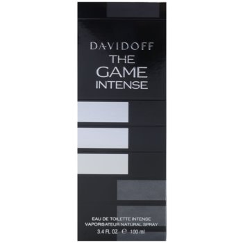 Davidoff The Game Intense Eau de Toilette für Herren 4
