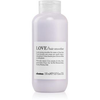 Davines Love Olive crema de netezire pentru par indisciplinat