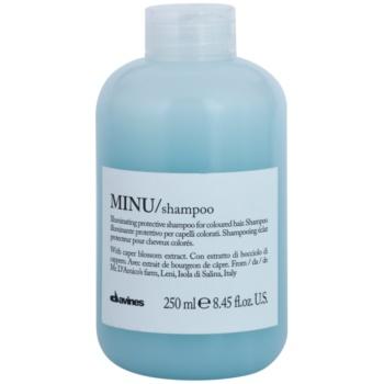 Davines Minu Caper Blossom zaščitni šampon za barvane lase