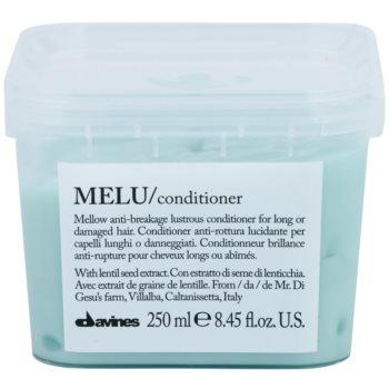 Fotografie Davines Melu Lentil Seed jemný kondicionér pro poškozené a křehké vlasy 250 ml