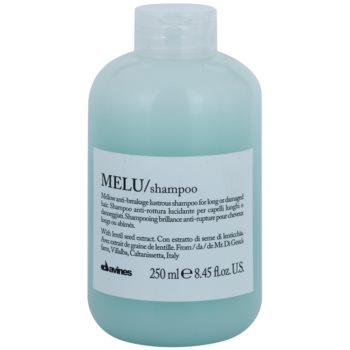 Fotografie Davines Melu Lentil Seed jemný šampon pro poškozené a křehké vlasy 250 ml