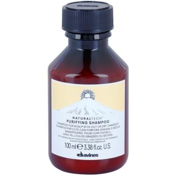 Davines Naturaltech Purifying čisticí šampon proti lupům 100 ml
