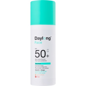 daylong sensitive fluid pentru tonifierea bronzului spf50+