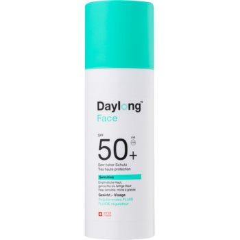 daylong sensitive fluid pentru fata cu protectie solara spf50+