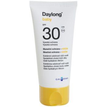 Fotografie Daylong Baby minerální ochranný krém pro citlivou pokožku SPF 30 voděodolný 50 ml