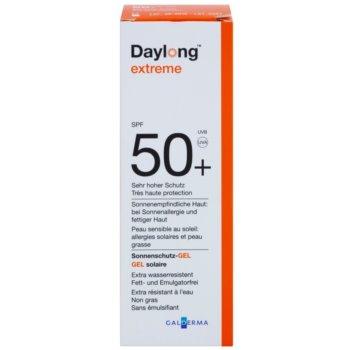 Daylong Extreme gel protetor para a pele oleosa e sensível SPF 50+ 2