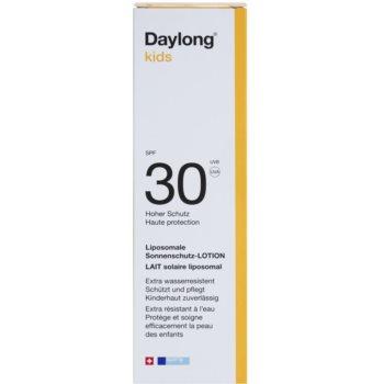 Daylong Kids loțiune de protecție lipozomală SPF 30 2