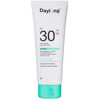 Daylong Sensitive gel cremă de protecție SPF 30