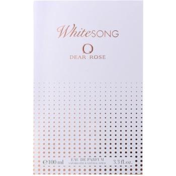 Dear Rose White Song woda perfumowana dla kobiet 4
