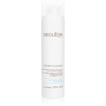 Decléor Aroma Cleanse spuma pentru curatare si netezire 3 in 1