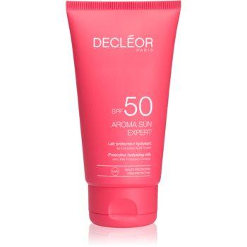 Fotografie Decléor Aroma Sun Expert opalovací krém na obličej s protivráskovým účinkem SPF50 50 ml