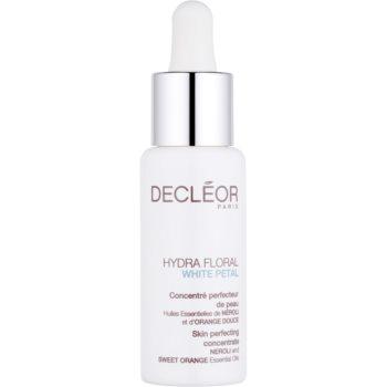 Decléor Hydra Floral White Petal concentrat, pentru un efect perfect cu efect de hidratare