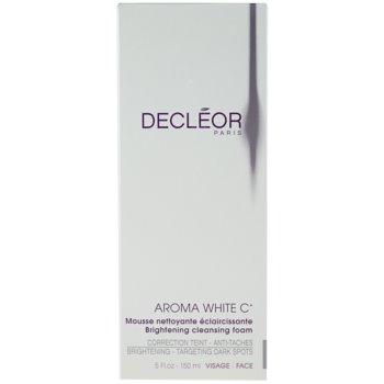 Decléor Aroma White C+ изсветляваща почистваща пяна 2