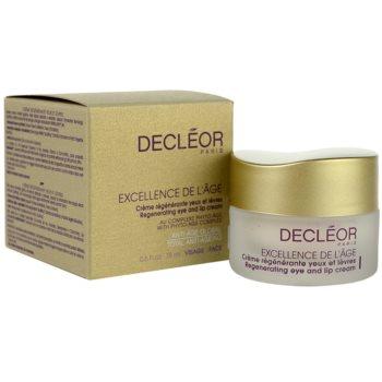 Decléor Excellence de L´Âge Anti-Âge Global крем проти зморшок для шкіри навколо очей для зрілої шкіри 2