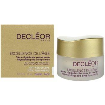 Decléor Excellence de L´Âge Anti-Âge Global крем проти зморшок для шкіри навколо очей для зрілої шкіри 3