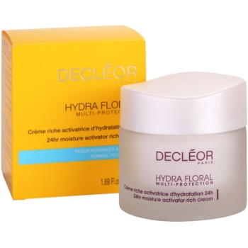 Decléor Hydra Floral Rich Hydrating Cream For Normal And Dry Skin 2