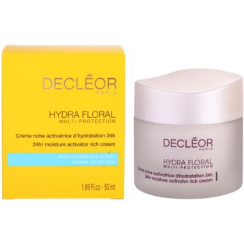 Decléor Hydra Floral Rich Hydrating Cream For Normal And Dry Skin 3