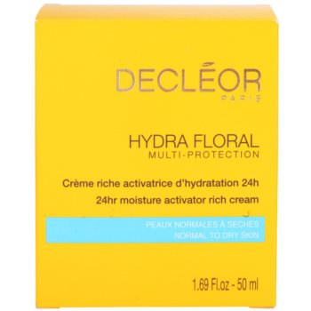 Decléor Hydra Floral Rich Hydrating Cream For Normal And Dry Skin 4
