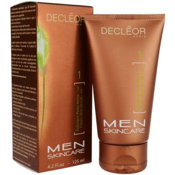 Decléor Men Skincare esfoliante de limpeza 1