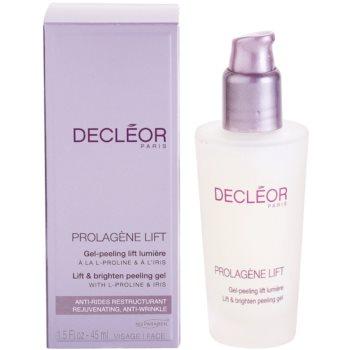 Decléor Prolagene Lift gel calmant si exfoliant pentru piele normala 1
