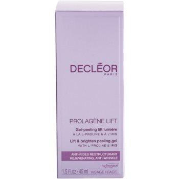 Decléor Prolagene Lift gel calmant si exfoliant pentru piele normala 3