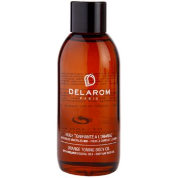 Delarom Body Care óleo corporal tonalizante de laranja