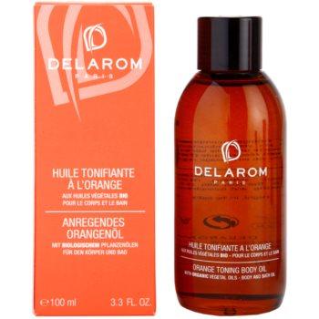 Delarom Body Care óleo corporal tonalizante de laranja 1