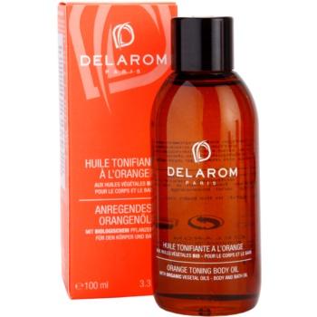 Delarom Body Care óleo corporal tonalizante de laranja 2