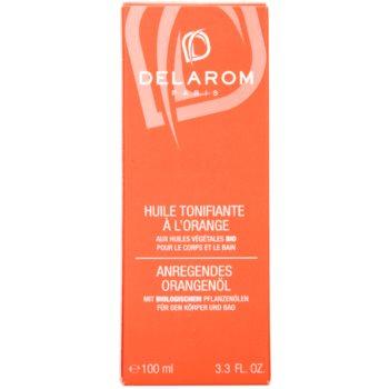 Delarom Body Care óleo corporal tonalizante de laranja 3