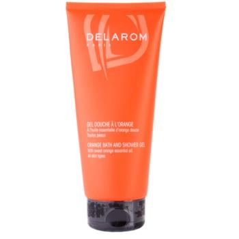 Fotografie Delarom Body Care pomerančový sprchový a koupelový gel 200 ml