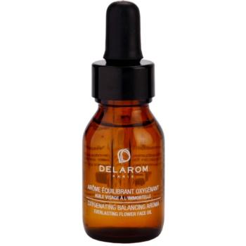 Fotografie Delarom Revitalizing okysličující aroma slaměnkový pleťový olej 15 ml