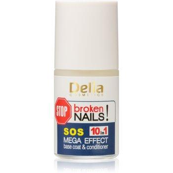 Delia Cosmetics Coral îngrijire profesională unghii, 10 în 1 poza noua