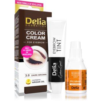 Delia Cosmetics Argan Oil culoare pentru sprancene imagine produs