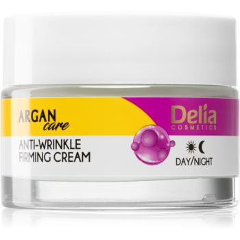 Delia Cosmetics Argan Care lift crema de fata pentru fermitate antirid imagine