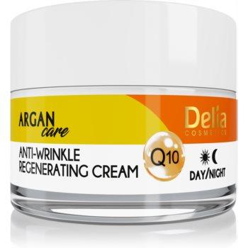 Delia Cosmetics Argan Care cremă antirid cu efect de regenerare cu coenzima Q10  50 ml
