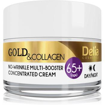 Delia Cosmetics Gold & Collagen 65+ crema anti-rid efect regenerator