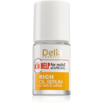 Delia Cosmetics Help for Nails & Cuticles ser intensiv unghii si cuticule