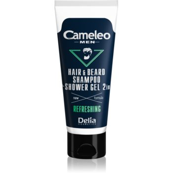 Delia Cosmetics Cameleo Men gel de du? ?i ?ampon pentru pãr, barbã ?i corp imagine produs
