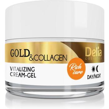 Delia Cosmetics Gold & Collagen Rich Care cremã facialã revitalizantã imagine