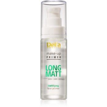 Delia Cosmetics Skin Care Defined Long Matt baza pentru machiaj pentru un aspect mat