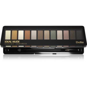 Delia Cosmetics Ideal Nude Color Master paletă cu farduri de ochi