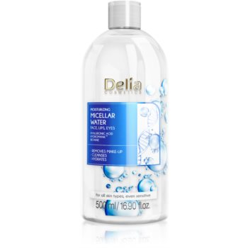 Delia Cosmetics Micellar Water Hyaluronic Acid apa micelara hidratanta imagine produs